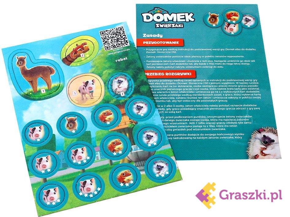Domek: Zwierzaki // darmowa dostawa od 249.99 zł // wysyłka do 24 godzin! // odbiór osobisty w Opolu